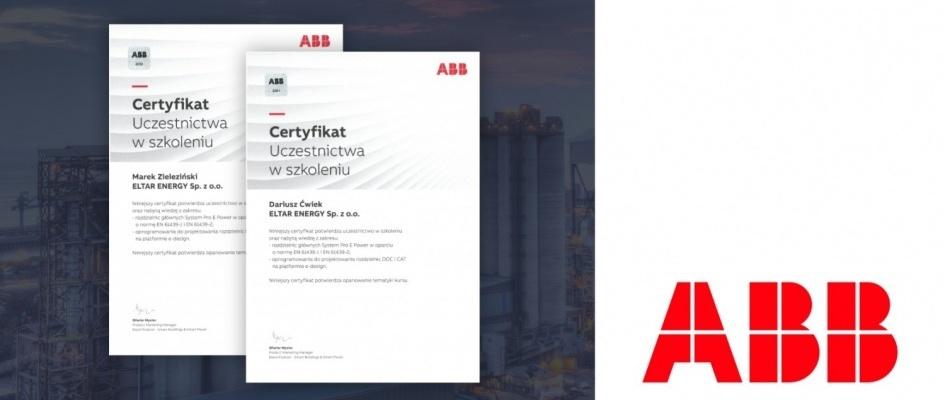 Certyfikaty z zakresu rozdzielnic głównych Systemu Pro E-Power